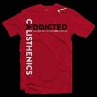 t-shirt-calisthenics-addicted-rossa