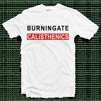 tshirt calisthenics bianca fronte