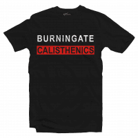 t-shirt calisthenics nera
