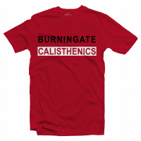 T-Shirt Calisthenics New17 Red