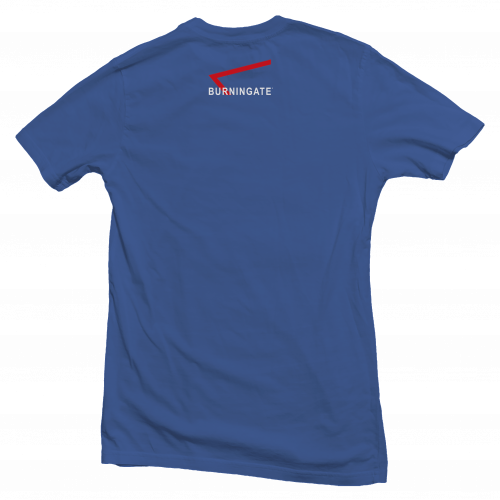 t-shirt calisthenics back blue