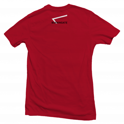 t-shirt calisthenics back red