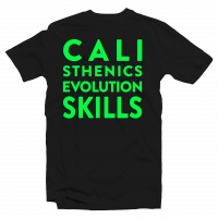 shirt Calisthenics Evolution Skills Verde Fluo